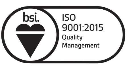 We are approved to ISO 9001:2008